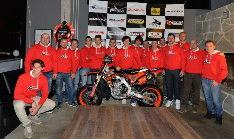 Ivan Lazzarini e Team 2015
